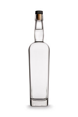 Glass Vodka Bottle - No Label