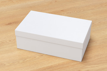 shoe box container