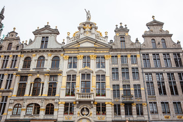 Historical guild houses of the Grand Place in Brussels
