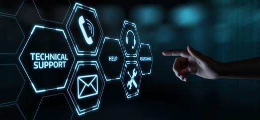 Fototapeta Technical Support Customer Service Business Technology Internet Concept obraz