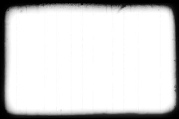 vintage old grunge film strip frame background, old movie damage effect, retro movie glitch effect with spot and dust