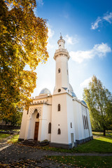 Muslim mosque in Kaunas city, Lithuania