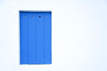 Blue Wooden Plank Background