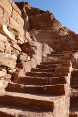 steintreppe - jordanien