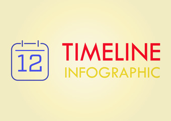 Abstract timeline Vector illustration