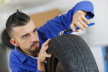 tires fixing for sell or fix in the shop