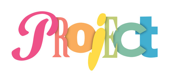 PROJECT letters banner
