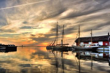 Assens Harbour, Denmark
