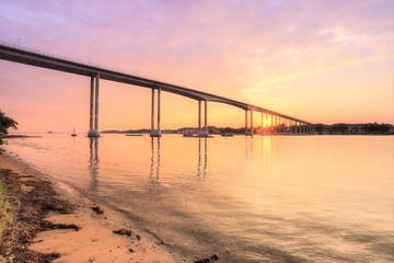 Svendborgsund Bridge, Denmark