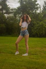 millennial lifestyle summer Jean shorts