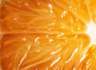 Orange texture background. Abstract macro shoot.