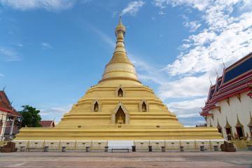 View of Wat Phra Borommathat Jadeeyaram in Kamphang Phet Thailand