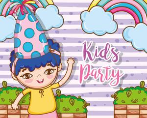 Kids party cartoons