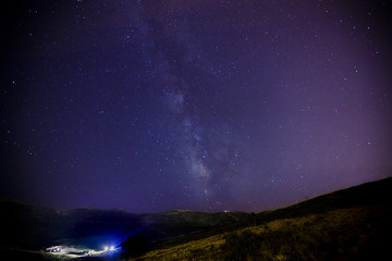 Milkyway on Uludag