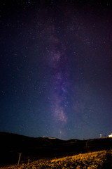 Milkyway from the Mountain