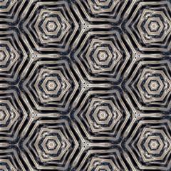 Trendy, gray, white, black geometric pattern. Abstract design, illustration for wallpaper, fabric, print.