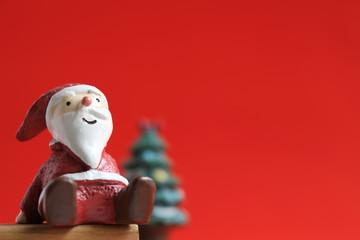Still life of Santa Claus who imaged Christmas