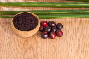 acai from the Amazon (Euterpe oleracea)