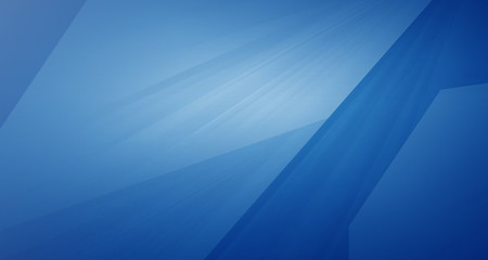 Abstract blue background with graphic element
