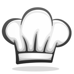 Vector chef hat icon design