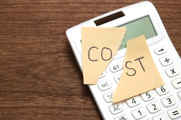 コストカット コスト削減 イメージ
