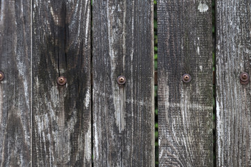 part of a wooden fence as a texture and background