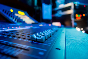 Audio Mixing Console/ Desk