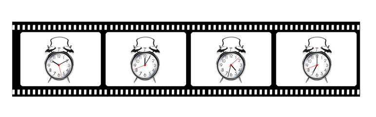 Verschiedene Uhrzeiten