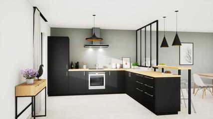 Vue 3d cuisine 13