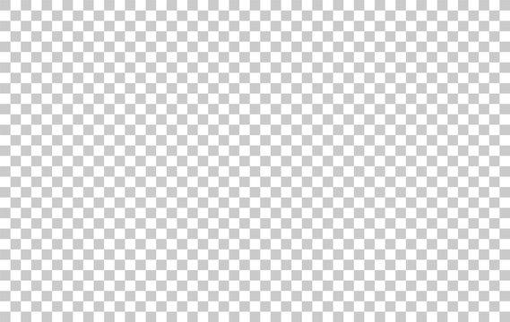 Transparent grid pattern for background. Vector.