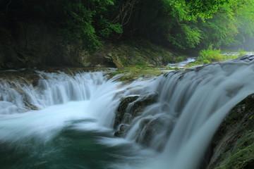 夏の気仙大滝