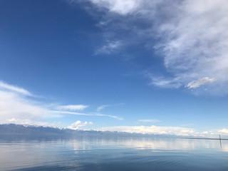 Issyk-Kul is an endorheic lake in the northern Tian Shan mountains in eastern Kyrgyzstan