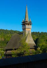 Image of wooden Biserica Sf. Nicolae in Maramures