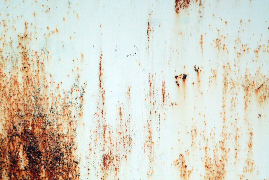 Grungy rusted metal surface.