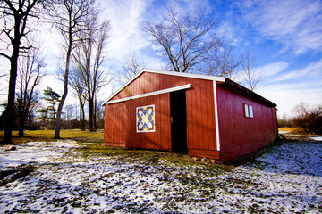heritage red barn