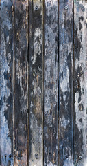 dark blue abstract rough old wooden background of hardwood boards