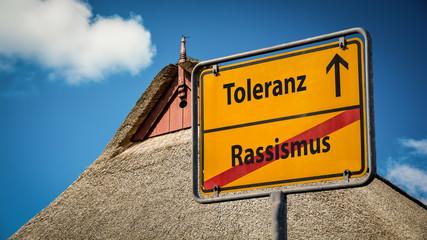 Schild 359 - Rassismus