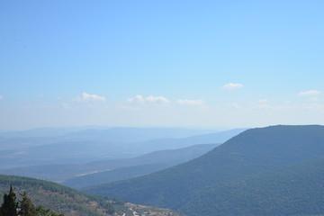 Mountains near Safed, Israel