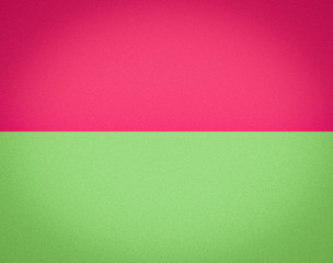 PInk & Green Split Tone Background. Horizontal division with noise texture and vignette.
