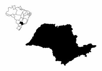 Sao Paulo State illustration