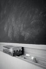 Chalk blackboard old School style