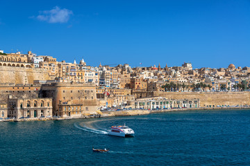 Grand Harbor in Valletta