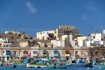 Colorful Maltese Fishing Village