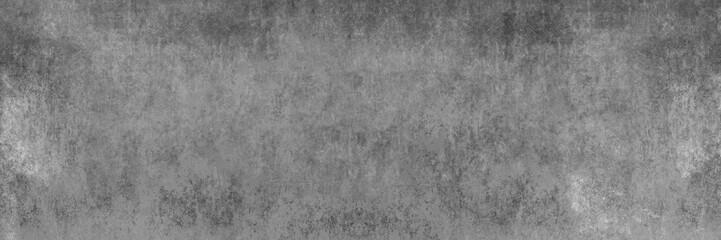 grau melierte Textur einer zerkratzten, alten Betonwand als Hintergrund im Großformat