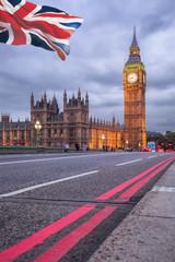 Fotomurales - Big Ben in the evening, London, United Kingdom
