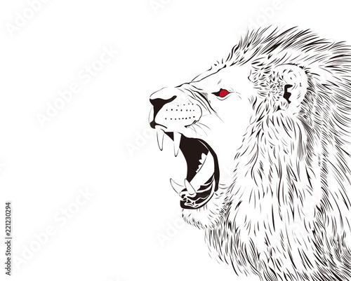 吠えるライオンfotoliacom の ストック写真とロイヤリティフリーの画像