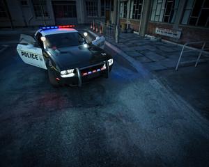 Crime Scene Background - Generic