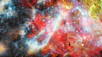Abstract background - outer space. Elements of this image furnished by NASA.