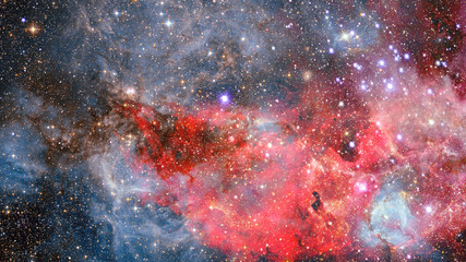 Abstract scientific background. Elements of this image furnished by NASA.