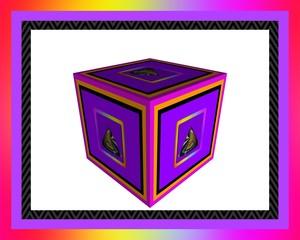Cubed Purple